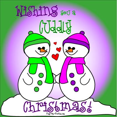 Wishing you a cuddly Christmas
