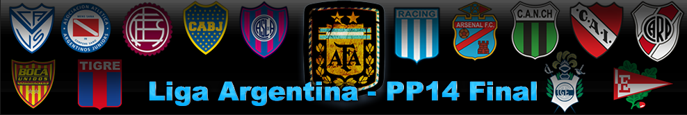 Liga Argentina - New Revolution of Pes
