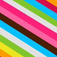 Free Stripes  amp  Shapes Facebook Timeline Cover BackgroundsDiagonal Stripes Colorful