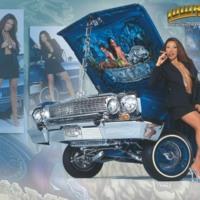 Blue 64 Impala Lowrider