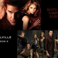 Buffy the Vampire Slayer & Smallville Collage