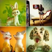 Ceramic Vintage Animals