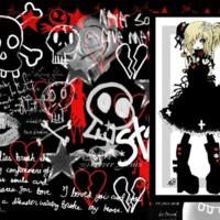 Punk Bitch Anime Girl