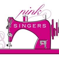 Pink Singers sewing machine