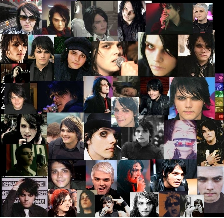 Gerard Way collage Twitter Backgrounds - Pimp-My-Profile.com