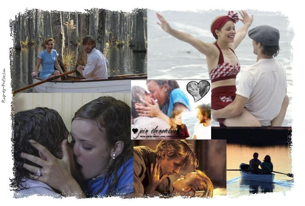 The Notebook Photo Collage Twitter Backgrounds - Pimp-My ...